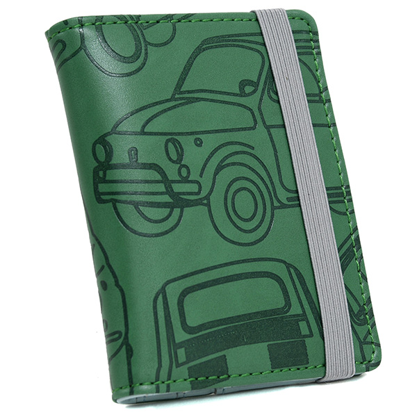 FIAT Nuova 500 Emboss Card Holder(Green)