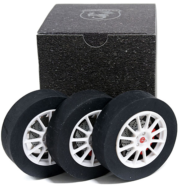 ABARTH Tyre Shaped Eraser