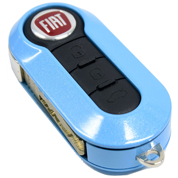 FIAT/ABARTH Key Cover(Light Blue Metalic)