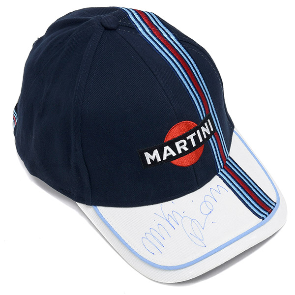 MARTINI Baseball Cap with MIKI BIASION Signature