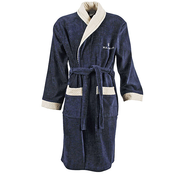 MASERATI Bath Robe(Blue)