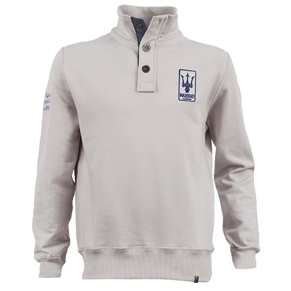 MASERATI MASERATI CLASSICHE Sweat Shirts(Gray)