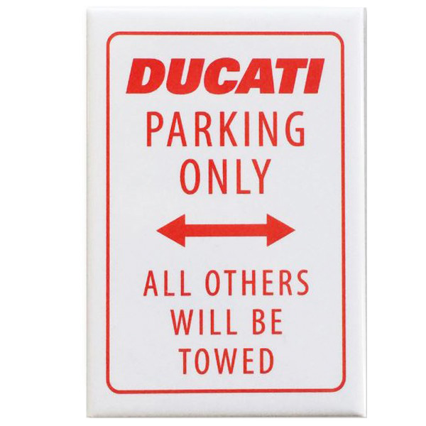 DUCAT MAGNET-PARKING ONLY-
