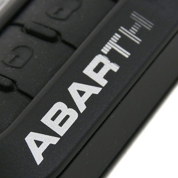 ABARTH Key Cover Prototype(Black/Silver Logo)
