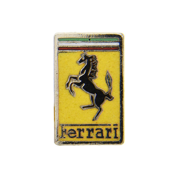 Ferrari Emblem Shaped Pin Badge by LORIOLI