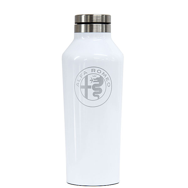 Alfa Romeo thermo bottle by CORKCICLE(White/9oz)<br><font size=-1 color=red>01/18到着</font>