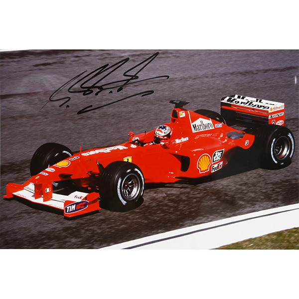 M.Schumacher Signed Photo