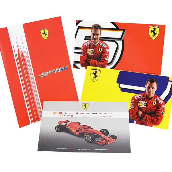 Scuderia Ferrari SF71H Press Kit