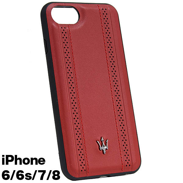 MASERATI iPhone 6/6s/7/8 Case-GRANLUSSO/Red-