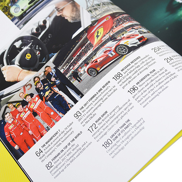 The Ferrari Official Magazine 37/2017(Year Book)- with Case