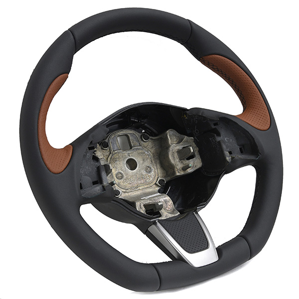FIAT NEW 500/500 ABARTH Steering Wheel(Black/Brown)