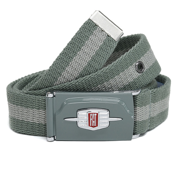 FIAT Nuova500 Grill Shaped Belt(Gray)