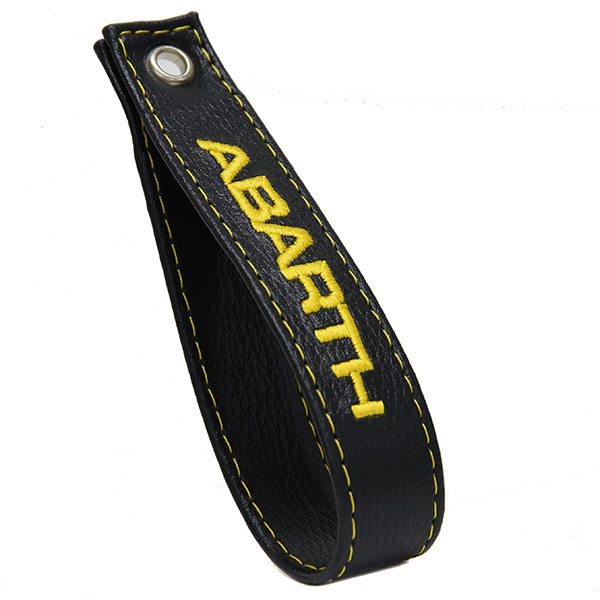 FIAT New 500 Rear Gate Strap(Black/Yellow)