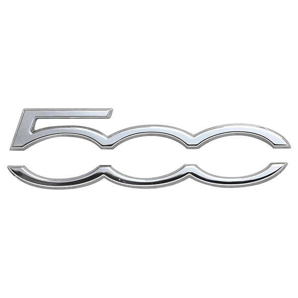 FIAT/ABARTH 500 Dashboard Emblem Logo(Chrome)