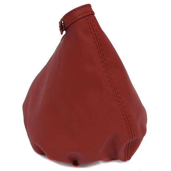 Alfa Romeo Brera/Spider(939) Leather Hand Brake Boot(Red/Red Stitch)
