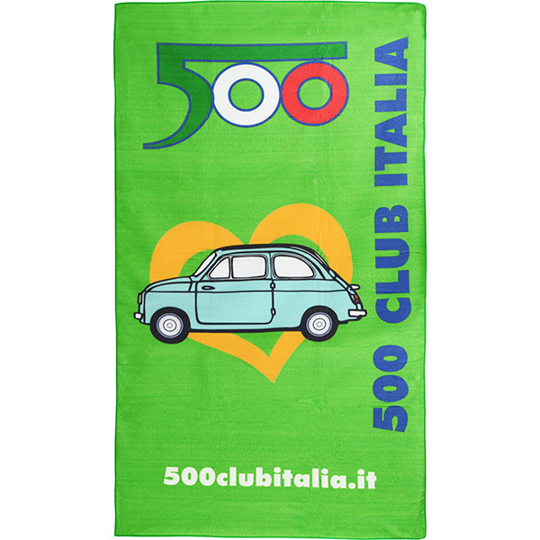 FIAT 500 CLUB ITALIA Beach Towel