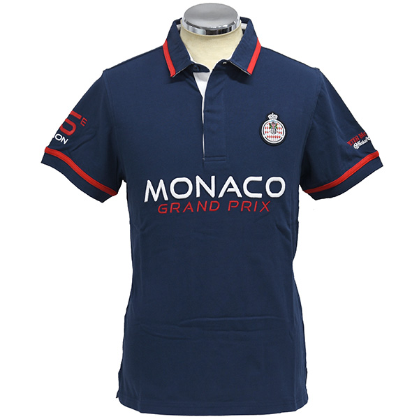 MONACO GRAND PRIX 2018 Official Polo Shirts(Navy)