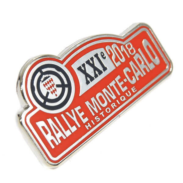 Rally Monte Carlo 2018 Official Pin Badge