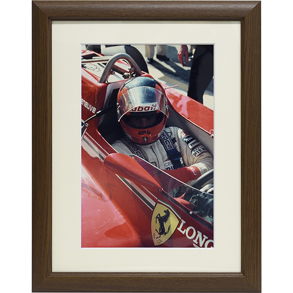 Gilles Villeneuve Photo with Frame Type A
