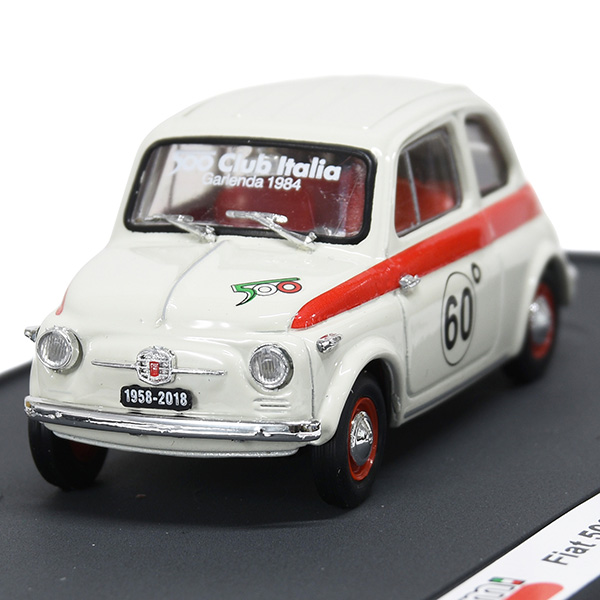 1/43 FIAT 500 CLUB ITALIA 500 60th SPORT Miniature Model