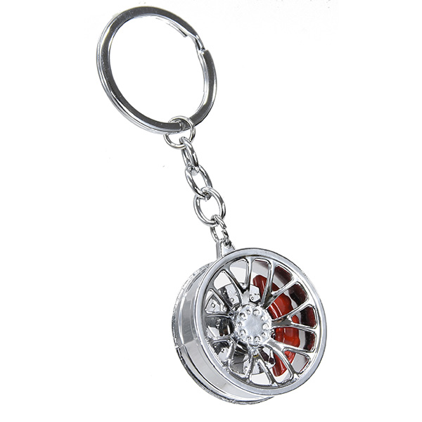 Wheel Shaped Keyring