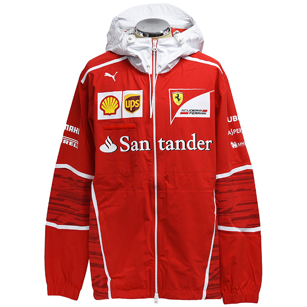Scuderia Ferrari 2017 Team Staff  Wind Proof Jacket