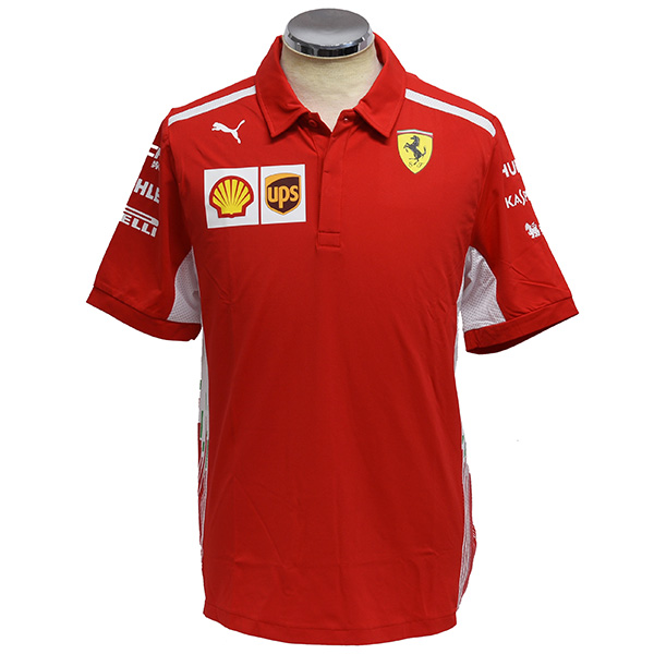 Scuderia Ferrari 2018 Team Staff Polo Shirts