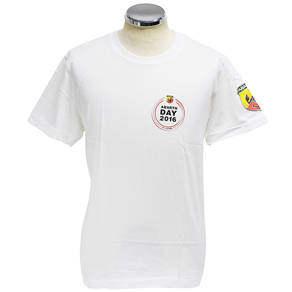 ABARTH DAY 2016 T-Shirts(White)