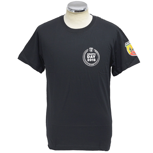 ABARTH DAY 2016 T-Shirts(Black)