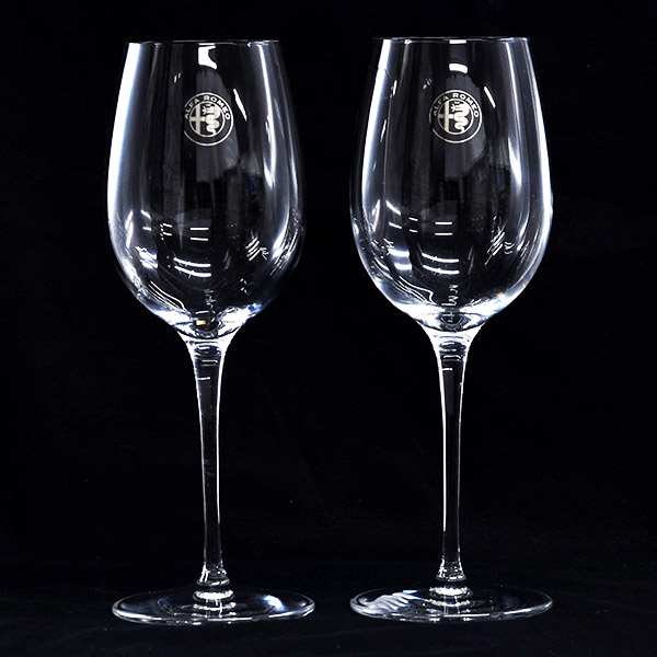 Alfa Romeo Wine Glass Set by Luigi Bormioli