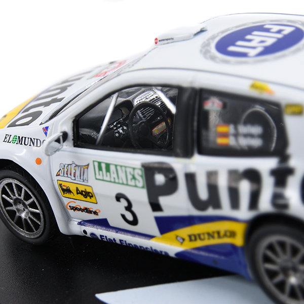 1/43 FIAT Punto S1600 Rally Miniature Model