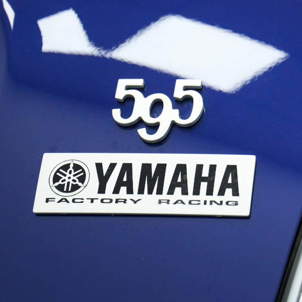 ABARTH 595 YAMAHA FACTORY RACING Emblem