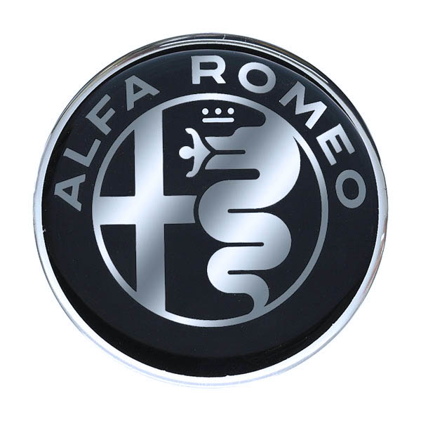 Alfa Romeo New Emblem 3D Sticker(58mm/Monotone)