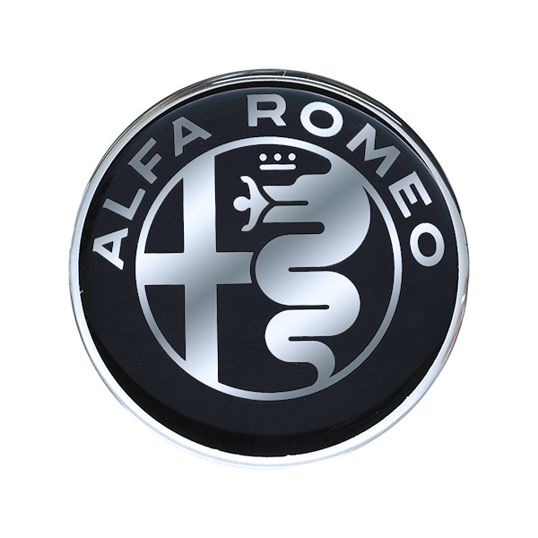 Alfa Romeo New Emblem 3D Sticker(40mm/Monotone)