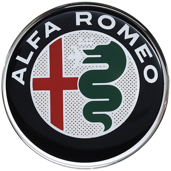 Alfa Romeo New Emblem 3D Sticker(75mm/Color)