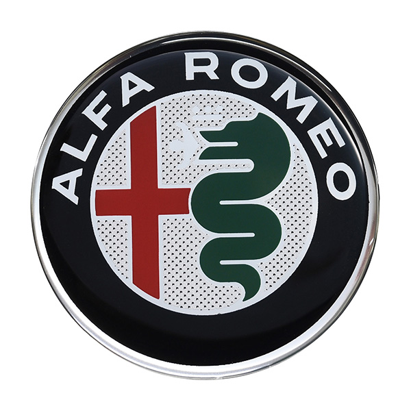 Alfa Romeo New Emblem 3D Sticker(58mm/Color)