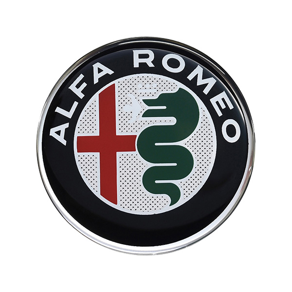 Alfa Romeo New Emblem 3D Sticker(40mm/Color)