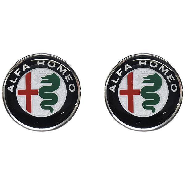 Alfa Romeo New Emblem 3D Sticker(21mm/Color/2pcs.)