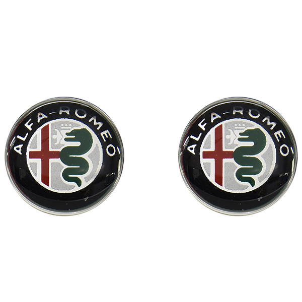 Alfa Romeo New Emblem 3D Sticker(12mm/Color/2pcs.)