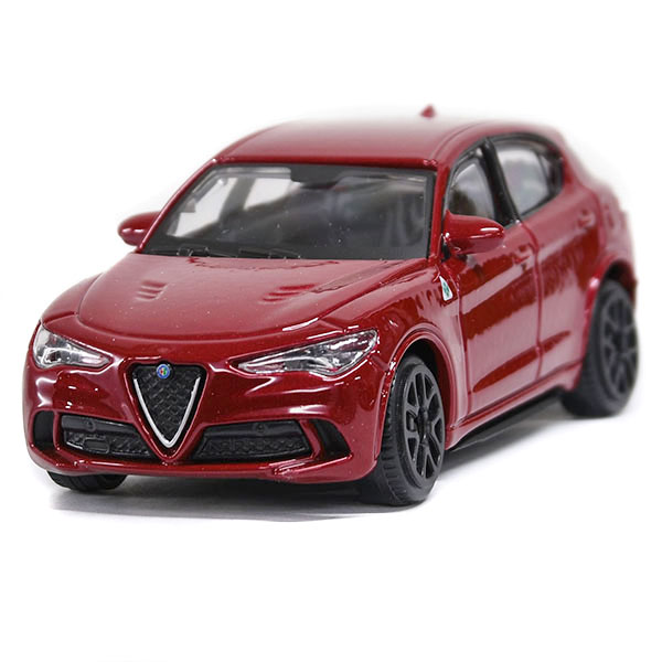 1/43 Alfa Romeo Stelvio Quadrifoglio Miniature Model (Red)