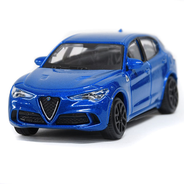 1/43 Alfa Romeo Stelvio Quadrifoglio Miniature Model(Blue)