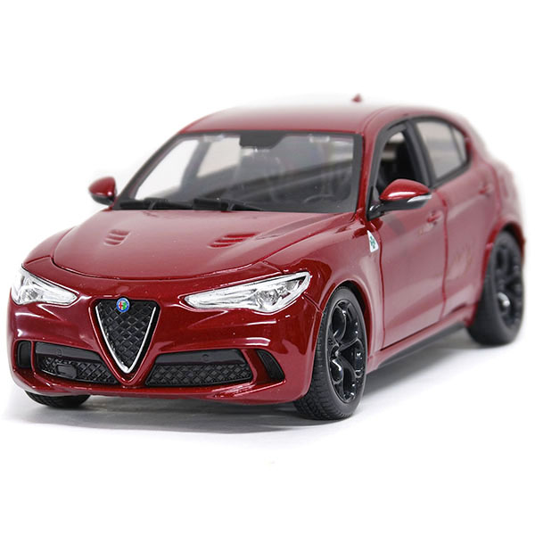 1/24 Alfa Romeo Stelvio Quadrifoglio Miniature Model(Red)