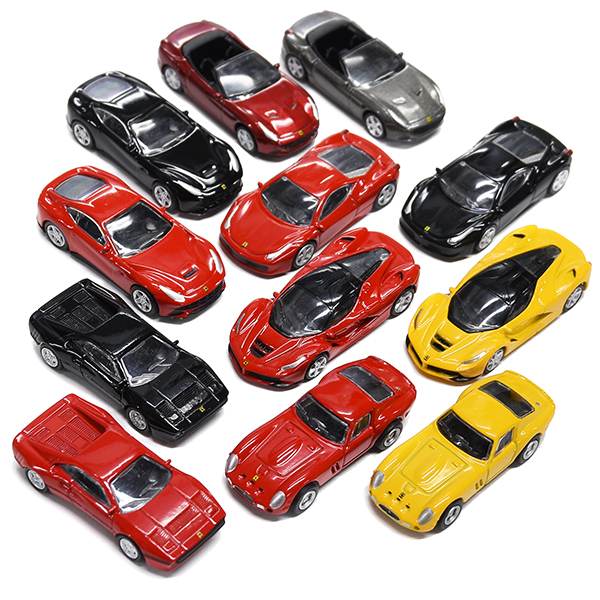1/100 Ferrari MICRO CARS COLLECTION 12台コンプリートセット