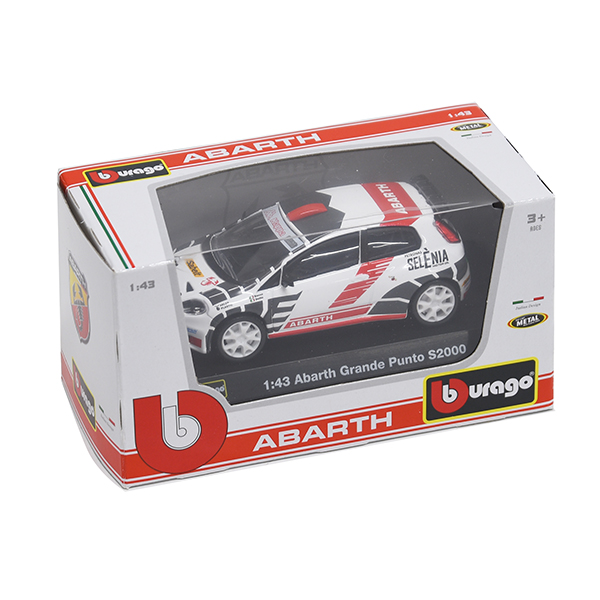 1/43 ABARTH GRANDE PUNTO ABARTH S2000 Miniature Model