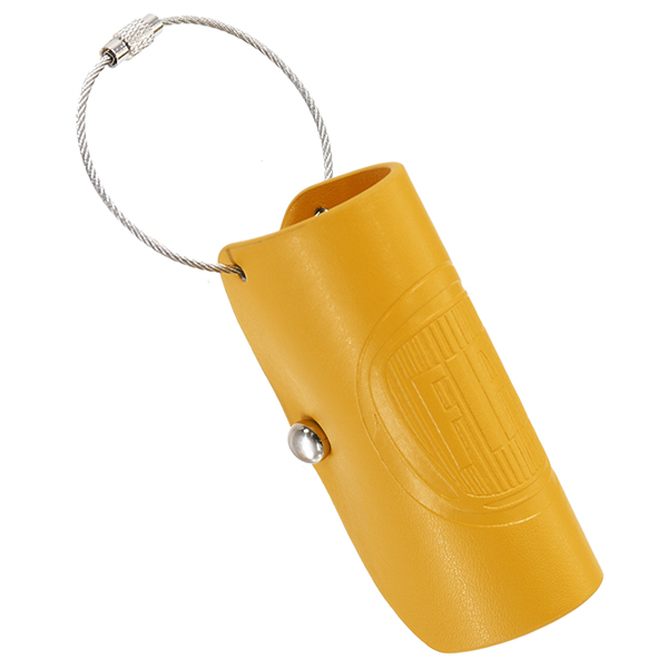 FIAT Leather Keycase(Yellow)