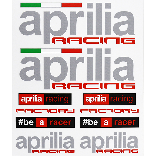 Aprilia Stickers Set