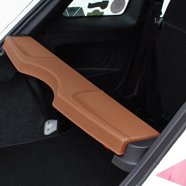 ABARTH/FIAT 500/595 Leather Hat Shelf Panel(Brown)