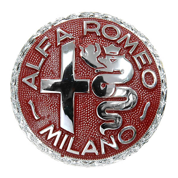 Alfa Romeo Milanoレッドエンブレム<br><font size=-1 color=red>10/06到着</font>