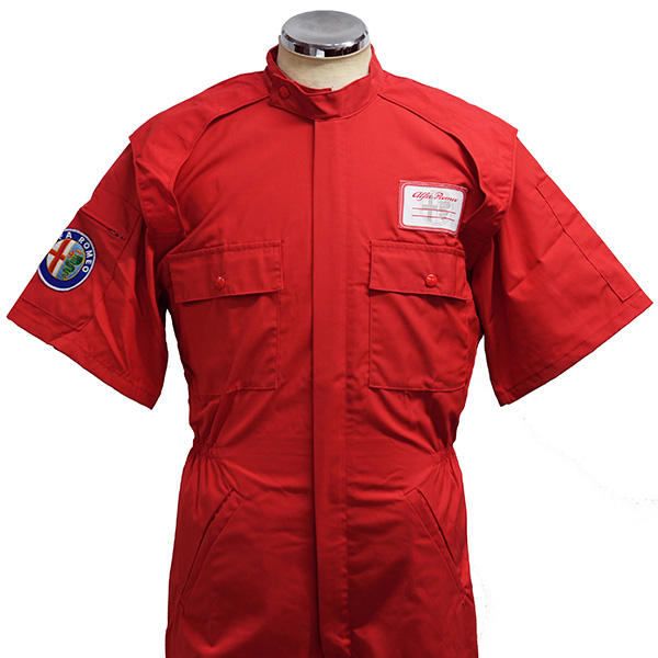Alfa Romeo Test Srivers Suits(Short Sleeves/44-46)