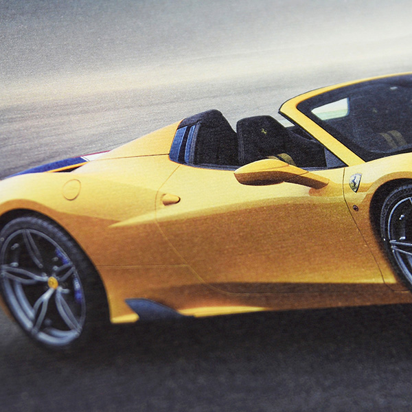 Ferrari 458 speciale A Technical Card